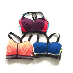 Victoria's Secret VSX Sports Bra - Lot of 3